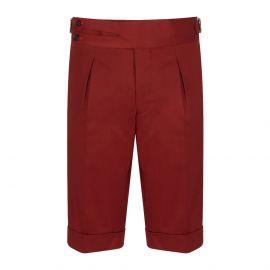 CORDONE 1956 Red Cotton Shorts