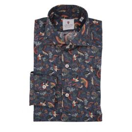 CORDONE 1956 Sherwood Blue Limited Edition Shirt