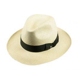QUITO Classic Toquilla Straw Panama Hat with Green Ribbon