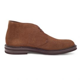 GREEN GEORGE Mink Suede Chukka Boots