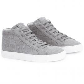 CROCO Grey High Top Sneakers