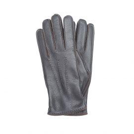 Dark Brown Deerskin Gloves