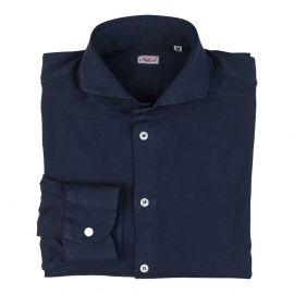Navy Blue 100% Jersey Cotton Shirt