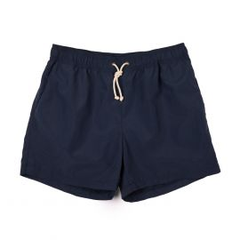 RIPA RIPA Night Blue Brushed-Canvas Swim Shorts