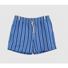 RIPA RIPA Monterosso Azure and Blue Printed Swim Shorts