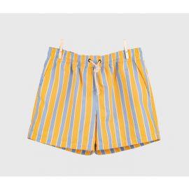 RIPA RIPA Monterosso Yellow and Azure Printed Swim Shorts