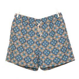 RIPA RIPA Panarea Blue Printed Swim Shorts