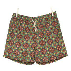 RIPA RIPA Pantelleria Green Printed Swim Shorts