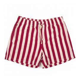 RIPA RIPA Paraggi Red Printed Swim Shorts
