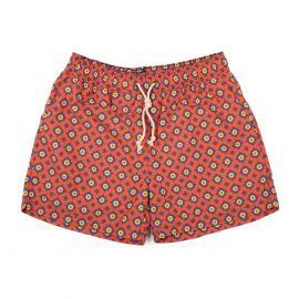 RIPA RIPA Ravello Red Printed Swim Shorts