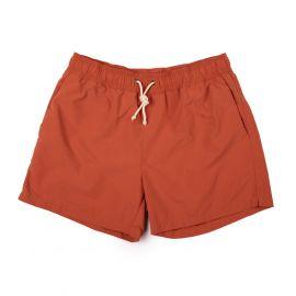 RIPA RIPA Tellaro Red Brushed-Canvas Swim Shorts