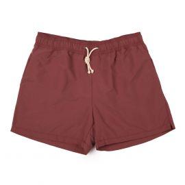 RIPA RIPA Veneziano Red Brushed-Canvas Swim Shorts