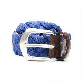 ADRIANO MENEGHETTI SCUBA Neoprene bicolor braided belt