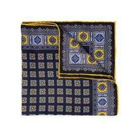SERA' FINE SILK Blackberry Primitivo Silk Handkerchief