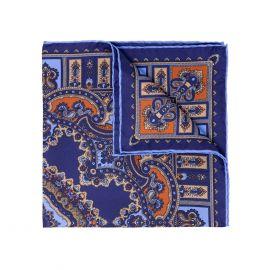 SERA' FINE SILK Licorice Barolo Silk Handkerchief