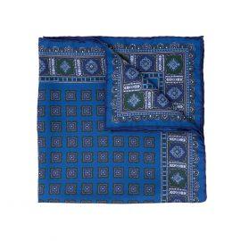 SERA' FINE SILK Salt Primitivo Silk Handkerchief