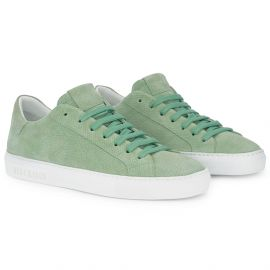 WHITE FOREST Green Low Top Sneakers