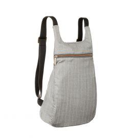 MANTICO Grey & White Classy Zayno Backpack