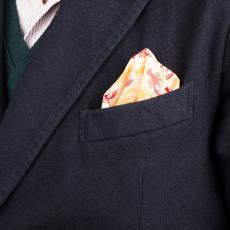 LOBSTER Pure Linen Handkerchief