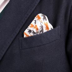 TIGER Pure Silk Handkerchief