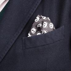 PANDA Pure Silk Handkerchief