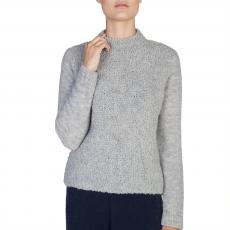Light Grey Lama and Wool Sweater