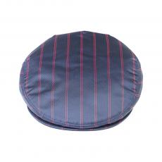 JOCKEY CAP Navy Red Pinstripe