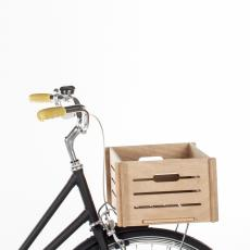 Bicycle Basket Front Wooden