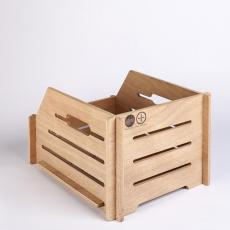 Bicycle Basket Back Small Wooden