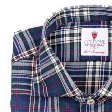 ASPEN Tartan Double Twisted Cotton Shirt