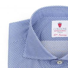 DOHA Patterned Double Twisted Cotton Shirt