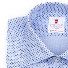 DUBAI Patterned Double Twisted Cotton Shirt