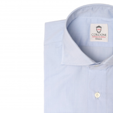 KING Light Blue Cotton Shirt