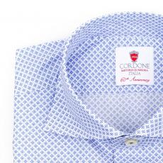 NAPOLI Patterned Double Twisted Cotton Shirt