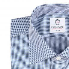 PIQUET Blue Polka Dots Cotton Shirt