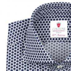 SAN CASSIANO Pois Double Twisted Cotton Shirt