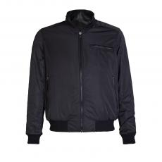Black Reversible Genuine Leather Jacket
