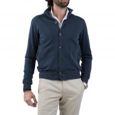 LIMITED EDITION Blue 100%Cotton Blouson