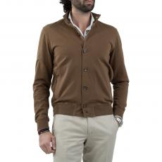 LIMITED EDITION Brown 100%Cotton Blouson