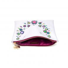 SOPHIA Printed clutch