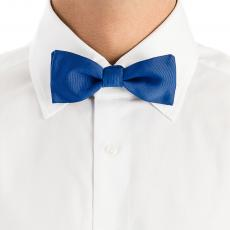 Ocean Blue Pure Silk Bow Tie