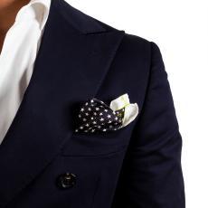 STARS Multicolor Silk Handkerchief