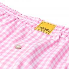 POPELINE Pink Checks Boxer Shorts