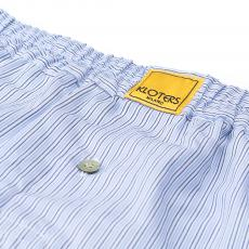 POPELINE Blue Stripes Boxer Shorts