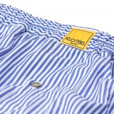 POPELINE Blue Sticks Boxer Shorts