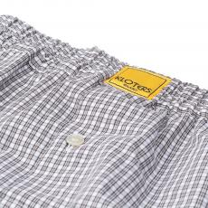 POPELINE Grey Checks Boxer Shorts