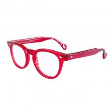 TOSCANI LARGE Red Acetate Frame