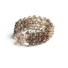 Swarowski Brown Crystals Bracelet