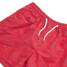 IBIZA Red Blue and Green Elastic Microfiber Swimwear
