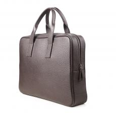 JASON Brown Grained Calf Leather TRAVEL & BUSINESS BAG